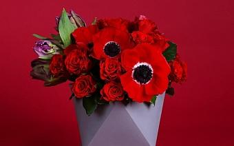 7 необычных цветочных композиций для девушки мечты